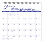 At-A-Glance Illustrator's Edition, Wirebound Monthly Wall Calendar, 12 x 11 3/4