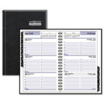At-A-Glance Hardcover Weekly Appointment Book, 4 7/8 x 8, Black, 2018