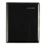 At-A-Glance Weekly/Monthly Appt. Book, 1 Wk/Spread, 6-7/8 x 8-3/4, Black