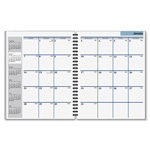 At-A-Glance Refill for AAG-G547-00, Unruled, 1 Month/Spread, 6-7/8x8-3/4