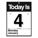 "At-A-Glance ""Today Is"" Daily Wall Calendar, Refillable, 6 5/8 x 9 1/8"