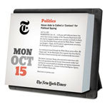 At-A-Glance YearInABox New York Times Daily Desktop Box Calendar, 6 1/8 x 5 1/4, 2018