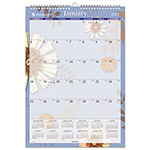 At-A-Glance Monthly Wall Calendar, 1PPM, 12Mths Jan-Dec, Flwrs/Multi