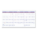 "At-A-Glance Horizontal Wall Calendar,15 Months,Dec-Feb,3MPP,23-1/2""x12"""
