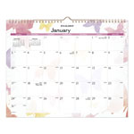 "At-A-Glance Monthly Wall Calendar, 12 Months, Jan-Dec, 15"" x 12"", 1PPD"