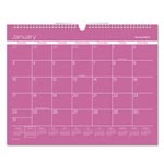 At-A-Glance Color Play Wall Calendar, 15 x 12, Purple, 2017