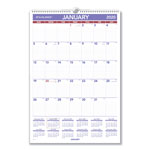 "At-A-Glance Write-On Wall Calendar,Jan-Dec,15-1/2""x22-3/4"",BE/WE"