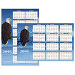 At-A-Glance Successories Reversible/Erasable Yearly Wall Calendar, 24 x 36, Four Color