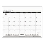 At-A-Glance One Color Monthly Desk Pad Calendar Refill, Jan Dec., 22 x 17