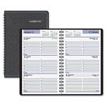 At-A-Glance Weekly Appointment Book, 1 Week/Spread, 4 7/8 x 8, Black