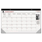 "At-A-Glance Calendar Desk Pad,12Mth Jan-Dec,17-3/4""x10-7/8"",WWarrior"