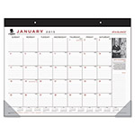 "At-A-Glance Desk Pad,12Mths,1PPD, Jan-Dec,22""x17"",WWarrior"