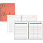 "At-A-Glance Teacher Planner Weekly/Monthly, 9"" x 11"", 12 Months July-June"