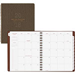 At-A-Glance Signature Collection Olive Green Monthly Planner, 7 1/4 x 8 3/4, 2018