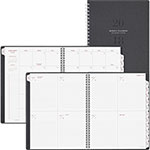 At-A-Glance Signature Collection Heather Gray Planner, 8 3/4 x 11