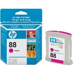 HP C9387AN#140 No. 88 Magenta Inkjet Cartridge, 620 Pages