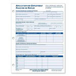 Adams Business Forms Employment Application form In English / Spanish