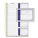 "Adams Business Forms Spiralbound Writing Pad with Tear Out Carbonless ""To Do"" Sheet, 7 1/2x11"", 200 sheets"