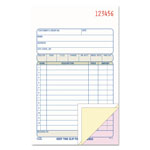 "Adams Business Forms Sales Order Book, 3 Part, 4 3/16"" x 7 3/16"""