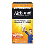 Airborne® Immune Support Chewable Tablets, Citrus, 64 Count
