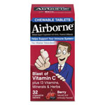 Airborne® Immune Support Chewable Tablet, Berry, 72/Carton
