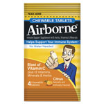 Airborne® Immune Support Chewable Tablets, Citrus, 4/Pack, 72 Pack/Box