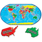 A Broader View Kids Puzzle Of The World, 80 Pieces