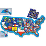 A Broader View The USA Puzzle, 500 Pieces, Assorted