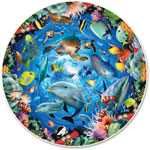 A Broader View Ocean View Roung Puzzle, 500 Pieces, MI