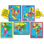 A Broader View The Continent Puzzle Combo Pack, 70 Pieces, MI