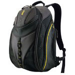 Mobile Edge MEBPE4 Express Backpack - Notebook Carrying Backpack - Black, Yellow