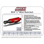 "Aircat 1/4"" Mini Ratchet"