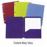Acco Report Cover, Assorted Colors, Each