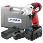 "AC Delco Li-ion 18V 3/8"" Impact Wrench with Digital Clutch"