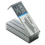 Ace Office Products Aceliner Full Strip Standard Staples, 5,000 Staples per Box
