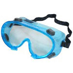 Acme Chemical Safety Goggles, Green Tint Lens