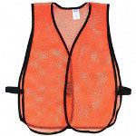 Acme Economy Lightweight Safety Vest, Orange, One Size Fits All