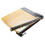Westcott® TrimAir Guillotine Wood Trimmer w/Microban Protection, 15 sheets, Wood, 22 x 14