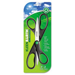 "KleenEarth® Scissors, 8"" Length, 3-1/4"" Cut, 2/Pack"