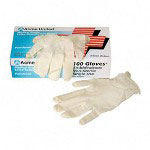 Acme 4070 Latex Gloves, Medium