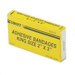 Physicians Care Fabric Adhesive Bandages, 2 1/4 x 3 1/2, 6 Bandages per Box