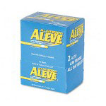 Aleve® Aleve, Single Dose Med Pack, 50/BX, Blue