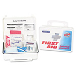 Physicians Care Personal Protection First Aid Clean Up Kit in Plastic Case