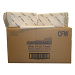 Chesapeake White C-Fold Towel, 10 Packs of 240 Towels