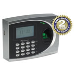 Acroprint Time Recorder 010250000 Silver and Black Biometric Time/Attendance System, 50000 Transactions