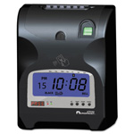 Acroprint Time Recorder Biometric Fingerprint Time Clock, Black/Red Ink, 6 x 5 x 9