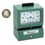 Acroprint Time Recorder Time Recorder 125-ER-3 Manual Model 125 Time Recorder, Imprints Day/0 23 Hours/Decimal 100ths Minutes