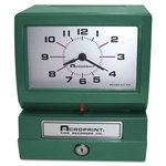 Acroprint Time Recorder Time Recorder 150-ER-3 Automatic Print Time Recorder, Day/0 23 Hours/Decimal 100ths Minutes