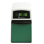 Acroprint Time Recorder Time Recorder ETC Time Stamp with Digital Clock, Year/Month/Date/Time