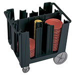 Cambro Adjustable Dish Caddy S-Series, Black
